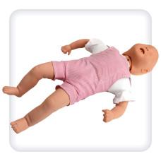 Манекен-тренажер младенца для отработки навыков удаления инородного тела